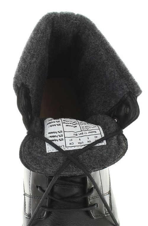 Hřejivý kožíšek uvnitř boty