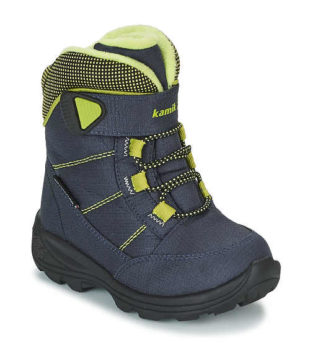 Kvalitní zateplené dětské zimní boty