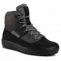 Moderní pánská kotníková zateplená obuv