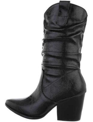 Dámské stylové westernové boty na podzim a zimu