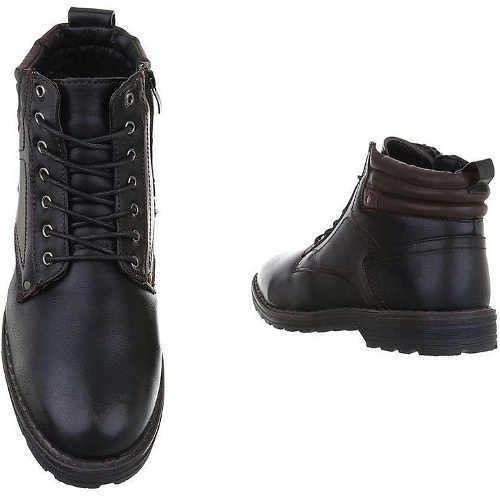 Elegantní pánské kožené zimní boty