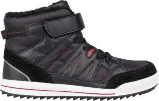 Levné kotníkové teniskové šedé dětské zimní boty Lewro CUBIQ II