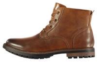 Pánské zimní kotníkové worker boty Soviet Islin