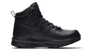 Kotníkové boty Nike v černém provedení