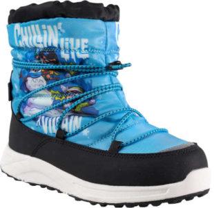 Dětské zimní boty s veselým potiskem