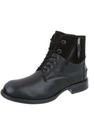 Kožené pánské kotníkové boty