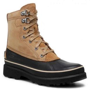 Pánské šněrovací zimní boty