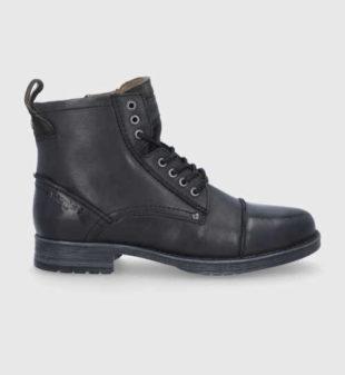 Pánské stylové kotníkové boty z kvalitního materiálu