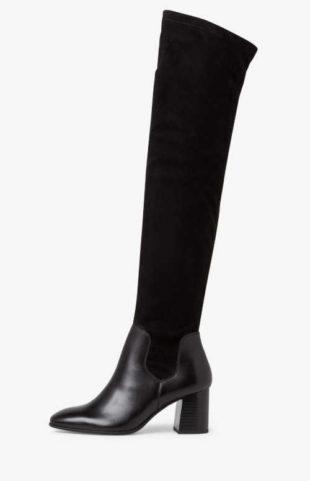 Sexy dámské kozačky nad kolena