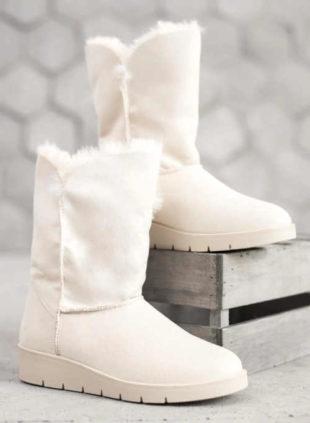 Dámské bílé hřejivé sněhule KYLIE UGG