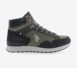 Kotníkové kožené boty U.S. Polo Assn