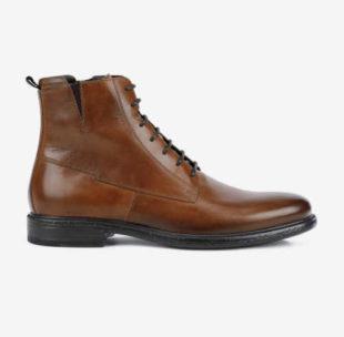Kožené pánské kotníkové boty Geox